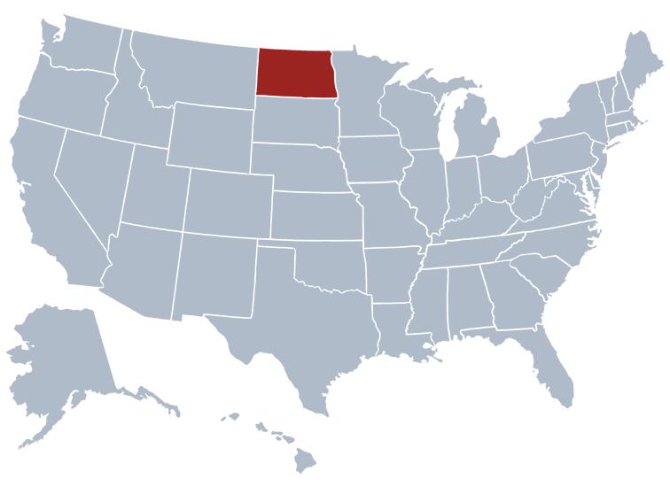 Rates Truckquote - Us map north dakota
